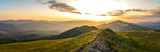 Panorama Bieszczad z Połoniny Wetlińskiej