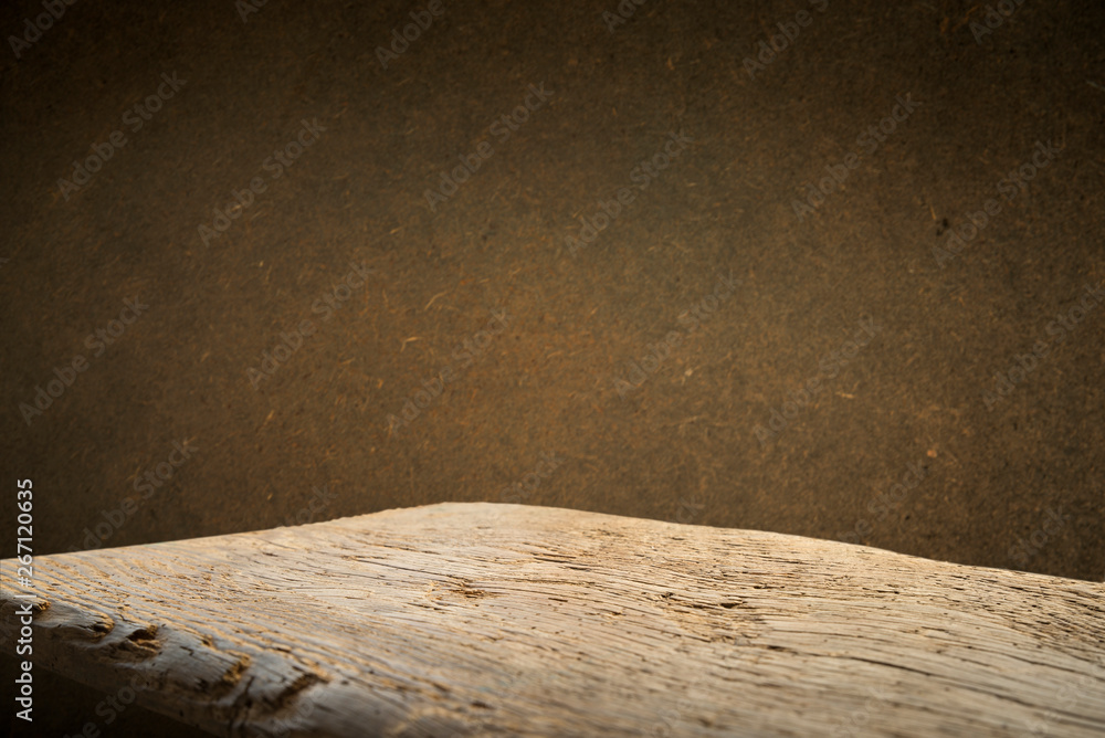 Fototapety, obrazy: background barrel and worn old table of wood