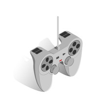 Gamepad Vector Illustration.