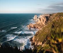 The Cliffs Of Cabo Da Roca At ...