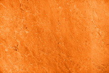 Close Up Of Abstract Turmeric Orange Toned Granite Stone Texture With High Resolution. For Background, Textures, Product Designs, Albums, Cards And Invitations, Catalogs