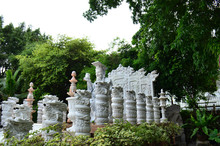 Marble Carved Statues In Guan ...