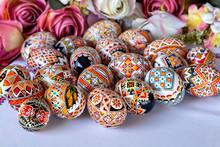 Ovos Coloridos Pintados Pêssa