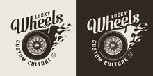 Vintage Motorcycle Monochrome ...