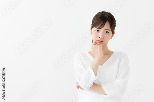 Fotografía  考える女性