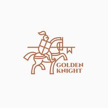 Golden Knight Logo