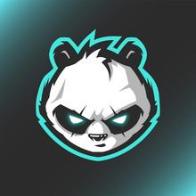 Head Panda Logo Mascot Vector ...