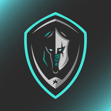 Spartan With Shield Logo Masco...
