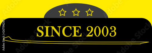 Papel de parede  Since 2003 sign logo emblem symbol