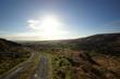 Ireland hill road sunny