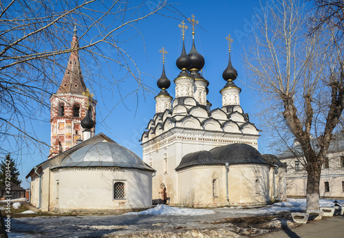 Photo Church of Antipas of Pergamon and Lazarev Church in Suzdal.