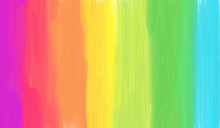 Colorful Rainbow Abstract Stri...