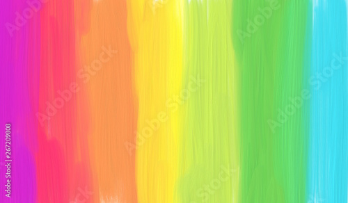 Fotografia  Colorful rainbow abstract stripes illustration