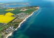 Luftbildaufnahme von der Ostseeinsel Fehmarn