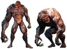 Mutant Abomination Monsters 3D Illustration