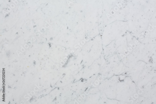 Poster Marbre Delicate marble texture in white colour.