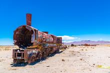 Rusty Train In The Famous Trai...