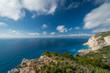 View of the cliffs near Shipwreck Cove