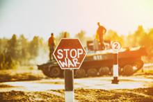 Creative Badge - Stop Wars. Co...