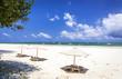 Leinwandbild Motiv Amazing Diani beach seascape, Kenya