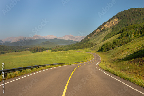 Fototapety, obrazy: Road in mountains