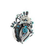 Sci-fi Artificial Heart 3d Ren...