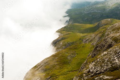 Printed kitchen splashbacks Coast Wetterumschwung in den Dolomiten, Südtirol