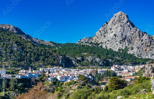 Foto Grazalema, white village in the province of Cadiz, Andalusia, Spain