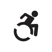 Disabled Handicap Icon Isolate...