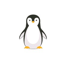 Cartoon Penguin Icon