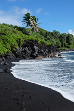 Black Sand Beach Paradise