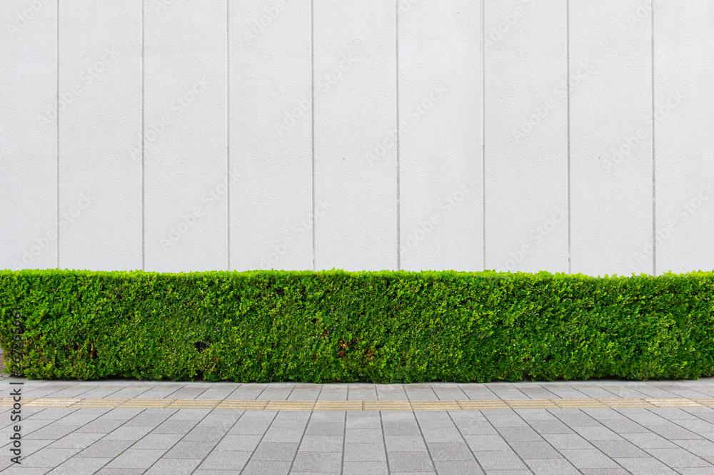 Fototapeta street wall background ,Industrial background, empty grunge urban street with warehouse brick wall