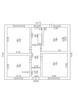 2d floor plan. Black&white floor plan. Floorplan