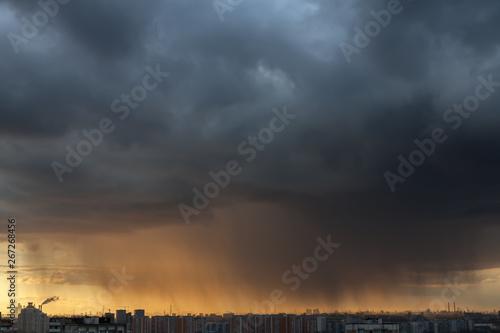 Fotografía April Thunderstorm over Moscow