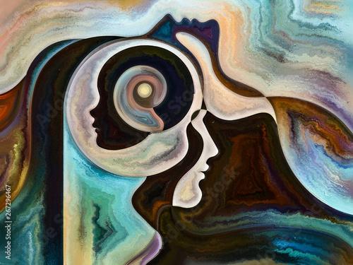 Fotografie, Obraz  Reality of Inner Colors