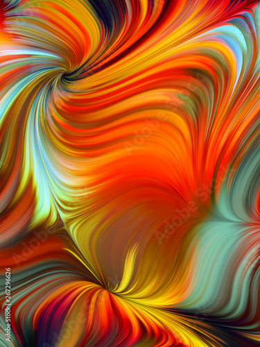 Wall Murals Psychedelic Vibrant Vivid Palette