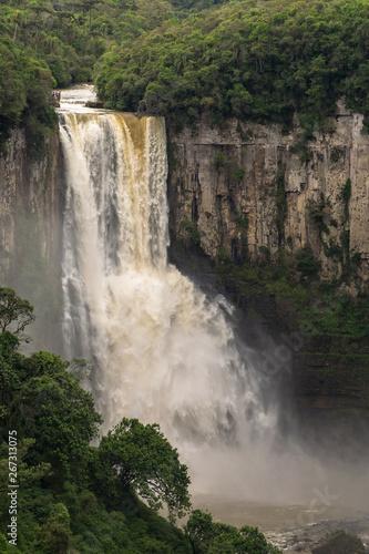 Poster Afrique du Sud Salto São João Prudentópolis Paraná Brazil. Waterfalls.