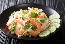Delicious Thai Salad Yum Woon ...