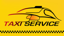 Car, Taxi Service Logo Or Busi...