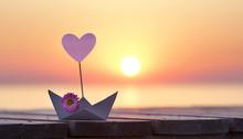 Herzliche Urlaubsgrüße Vom Meer