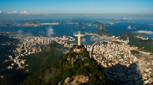 Rio De Janeiro, Brazil: Aerial...