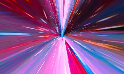 Flying Through Wormhole Tun...