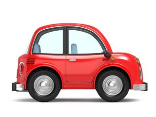 car small cartoon side