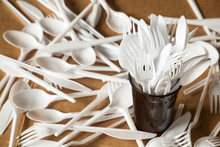 Plastic Disposable Cutlery, Forbidden In European Union