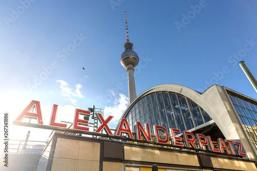 Photo alexanderplatz berlin germany