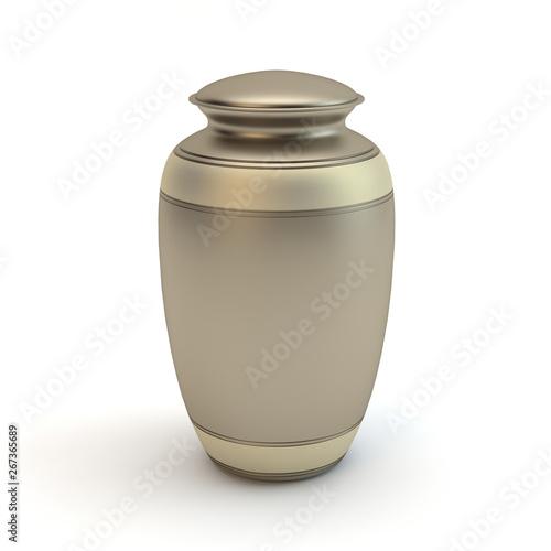 Cremation urn Fotobehang