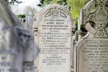 La Lapide Di Eleanor Rigby Presso St Peter's Parish Church, Liverpool