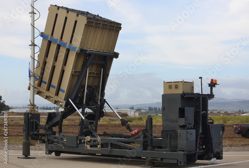 Anti-missile tactical system of the Israel Defense Forces Fototapete
