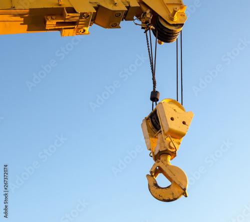 Fotografia  Hook of the crane