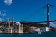 Ortoaköy Moschee und Bosporus Brücke